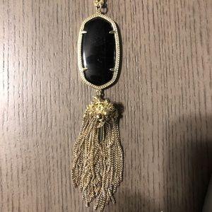 Kendra Scott Jewelry - Kendra Scott Gold Rayne Necklace in Black